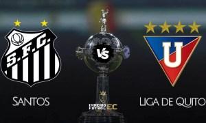 Santos vs Liga de Quito EN VIVO FOX Sports por los octavos de final de la Libertadores