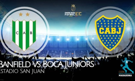 Boca Juniors vs Banfield EN VIVO ESPN 2 final de la Copa Diego Maradona