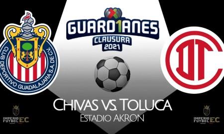 Chivas vs. Toluca EN VIVO TUDN partido por la Liga MX