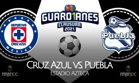 Cruz Azul vs Puebla EN VIVO TUDN y Footterspor la Liga MX