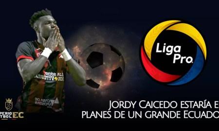 Jordy Caicedo estaría en planes de un grande Ecuador