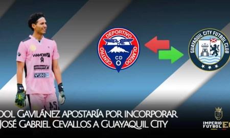 José Gabriel Cevallos muy cerca de firmar con Guayaquil City