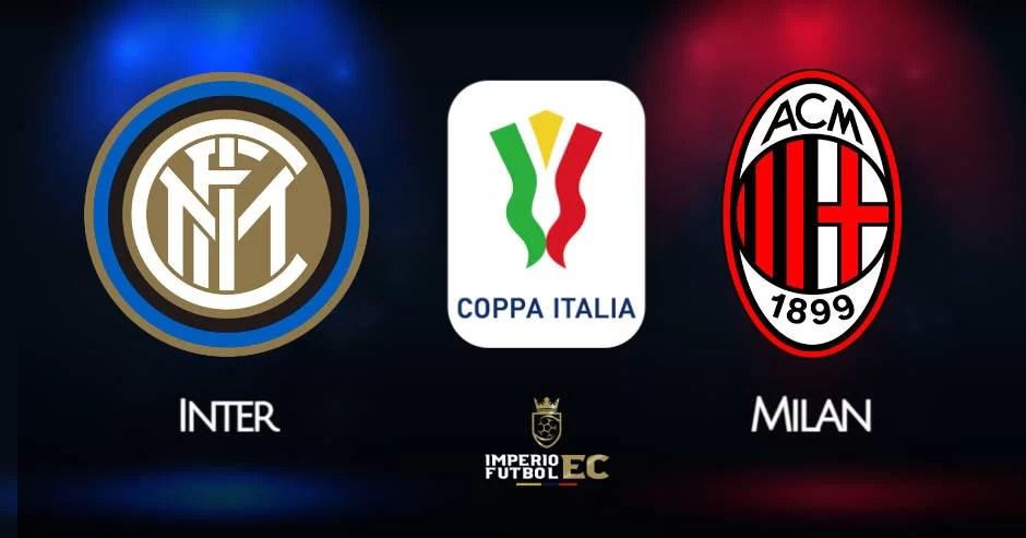 Milan vs Inter EN VIVO DirecTV por cuartos de final Coppa Italia