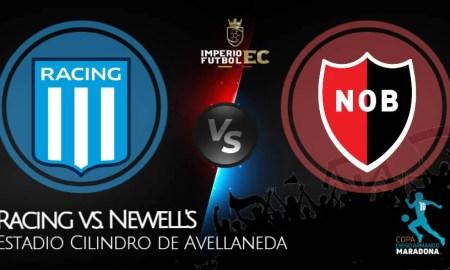 Racing vs. Newell's EN VIVO ver partido por la Copa Diego Maradona