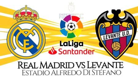 Real Madrid vs Levante EN VIVO ESPN 2 Canales TV para ver partido