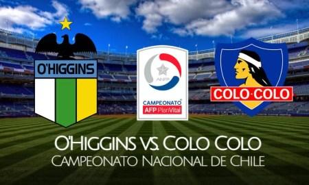 Colo Colo vs O'Higgins EN VIVO TNT Sports última fecha del Campeonato Nacional