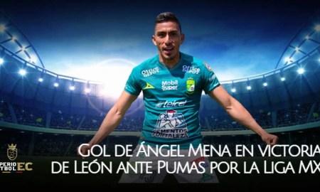 Gol de Ángel Mena en victoria de León ante Pumas por la Liga MX (VIDEO)