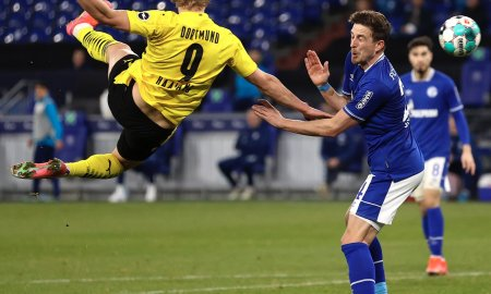 Goleada de Borussia Dortmund con un golazo de HAALAND