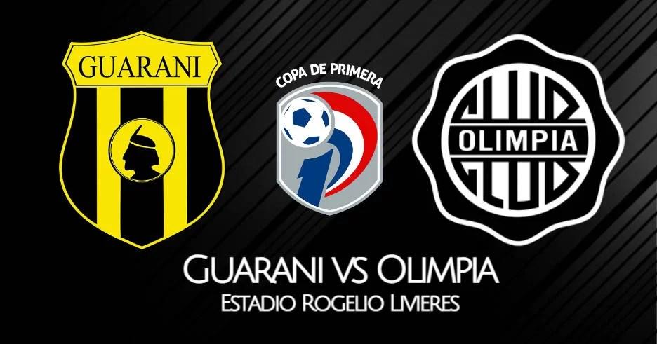 Guarani vs Olimpia EN VIVO TiGo Sports por la Liga de Paraguay