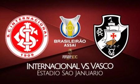Internacional vs Vasco EN VIVO Donde ver partidazo por el Brasileirao