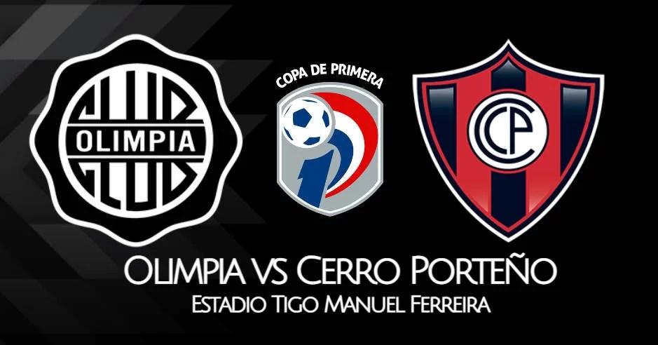 Olimpia vs Cerro Porteño EN VIVO TiGO Sports Supercláscio