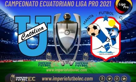 Universidad Católica vs Manta FC EN VIVO-01