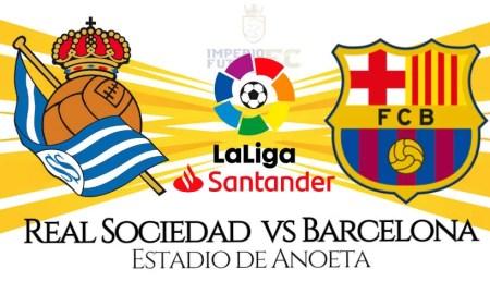 Barcelona - Real Sociedad EN VIVO horarios por LaLiga