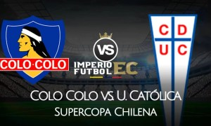 Colo Colo - U. Católica TNT Sports EN VIVO por la Supercopa Chilena