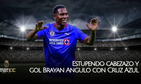 Estupendo cabezazo y gol Brayan Angulo con Cruz Azul