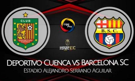 Deportivo Cuenca - Barcelona SC VER EN VIVO Canal de TV por la fecha 7 de la LigaPro