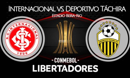 Deportivo Táchira - Internacional EN VIVO FOX Sports por Copa Libertadores