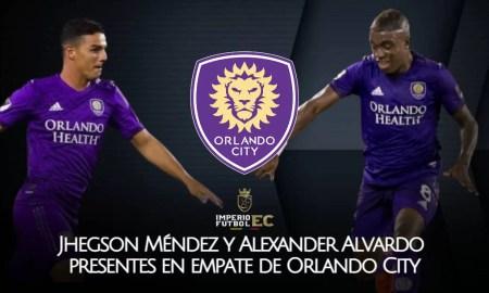 Jhegson Méndez y Alexander Alvardo presentes en empate de Orlando City