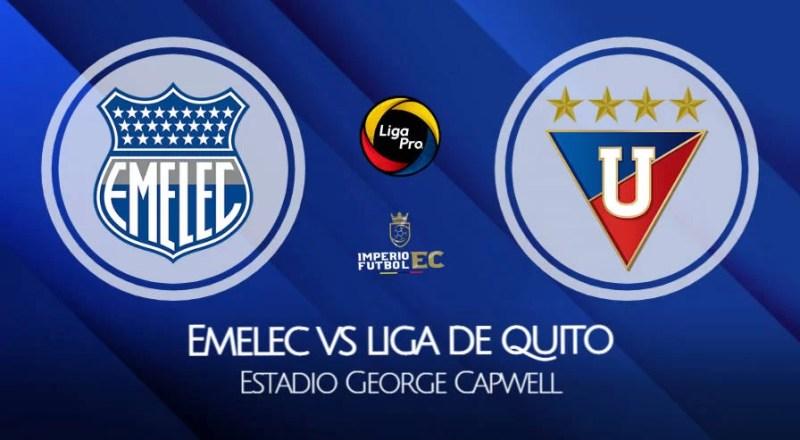 Liga de Quito - Emelec EN VIVO por GOLTV por Liga Pro Ecuador 2021