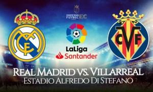 Real Madrid - Villarreal EN VIVO TV partido por LaLiga por ESPN