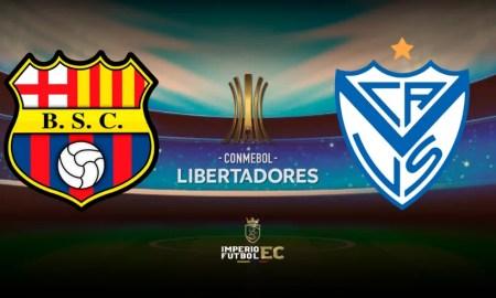 Barcelona SC vs Vélez Sarsfield EN VIVO OCTAVOS DE FINAL COPA LIBERTADORES