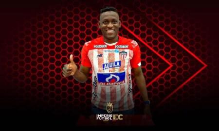 Cristian Martínez dejó Liga de Quito para jugar en Junior de Barranquilla