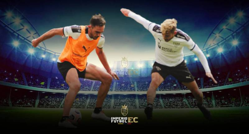 Liga de Quito entrenando jugadores