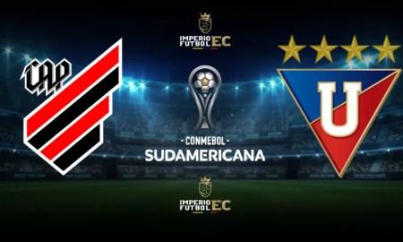 Athlético Paranaense vs Liga de Quito EN VIVO Copa Sudamericana