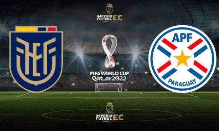 ECDF partido Ecuador vs Paraguay EN VIVO por Eliminatorias Qatar 2022