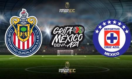 Fecha y hora para VER PARTIDO Cruz Azul vs. Chivas EN VIVO por la fecha 15 de Liga MX