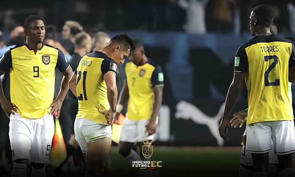baja importante en Selección de Ecuador tras la derrota ante Colombia