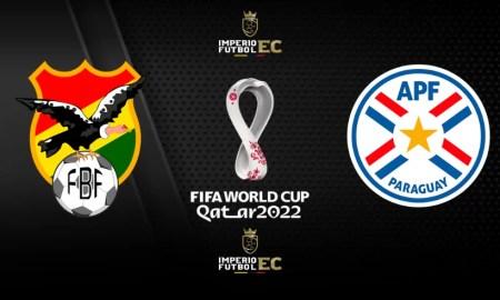 PARTIDO BOLIVIA vs. PARAGUAY EN VIVO FECHA 12 Eliminatorias