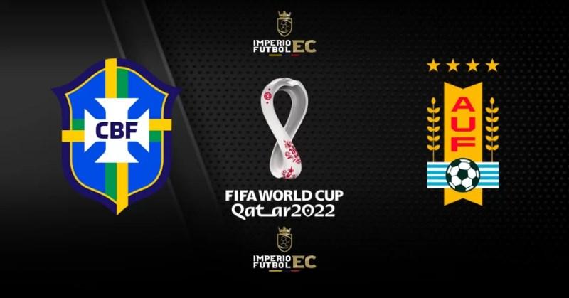 PARTIDO BRASIL vs. URUGUAY EN VIVO FECHA 12 Eliminatorias