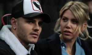 Wanda Nara quiere el divorcio y Mauro Icardi amenaza con dejar el PSG