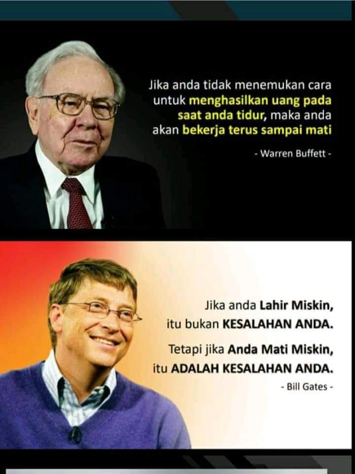 Warren Buffet dan Bill Gates