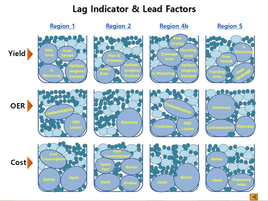 Lag Indicator and Lead Factors