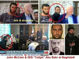 The Seeing Past Hands Syndrome or McCain's Dementia