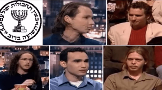 Mossad's 9/11 truck bombers, who planted thousands of pounds of explosives on the George Washington Bridge which had to be defused and removed. The Mossad plan was to frame the Palestinians.
