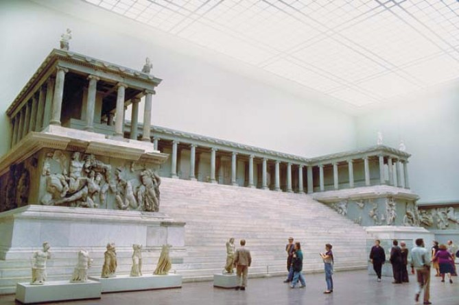 ca. 165-156 B.C. --- Great Altar of Pergamon --- Image by © Wolfgang Kaehler/CORBIS