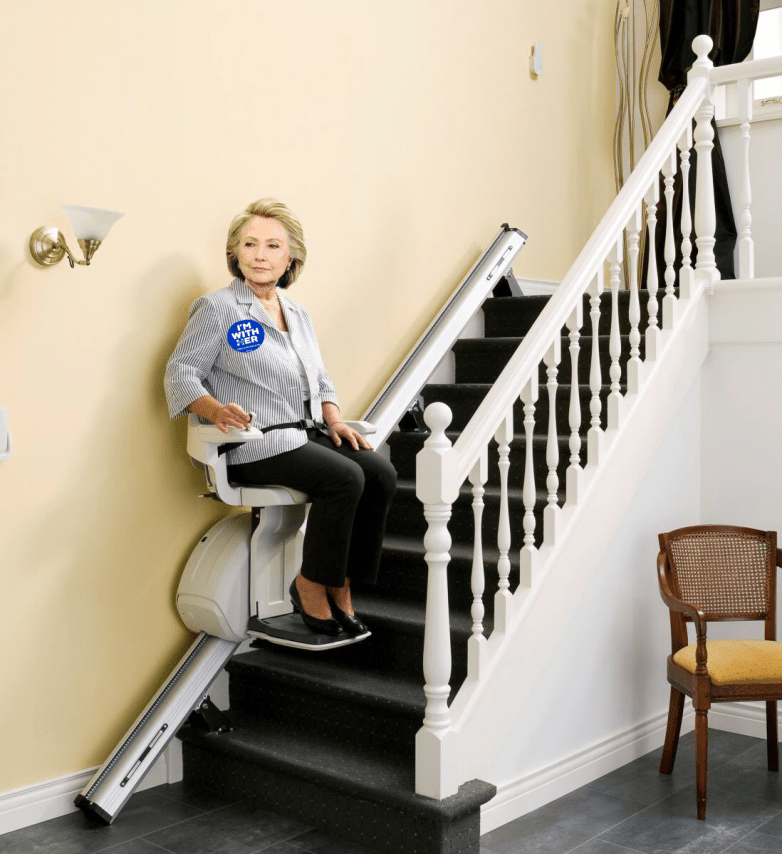 hillary-at-home