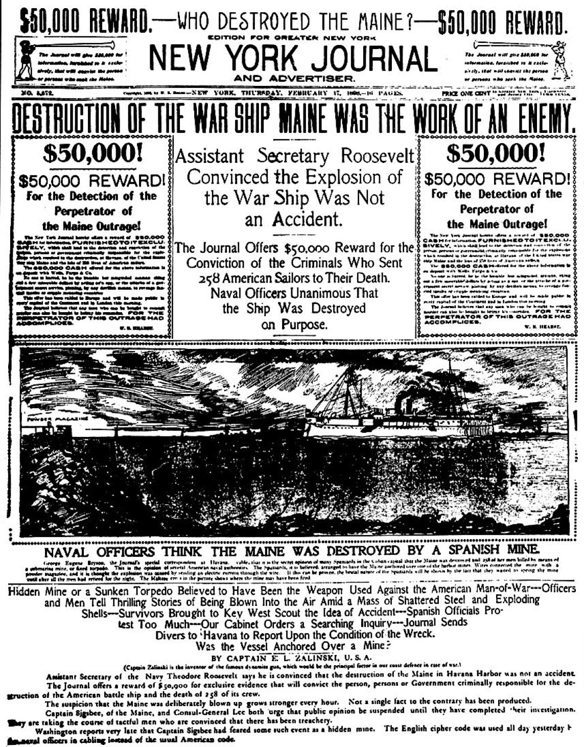 Pulitzer Prize Began With Fake News, Gave Us WWI