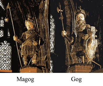 Armageddon, Gog and Magog (Bush's Bonesman name is Magog)