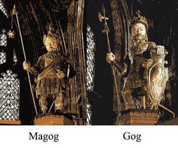 Armageddon, Gog and Magog (Bush's Bonesman name is Magog)