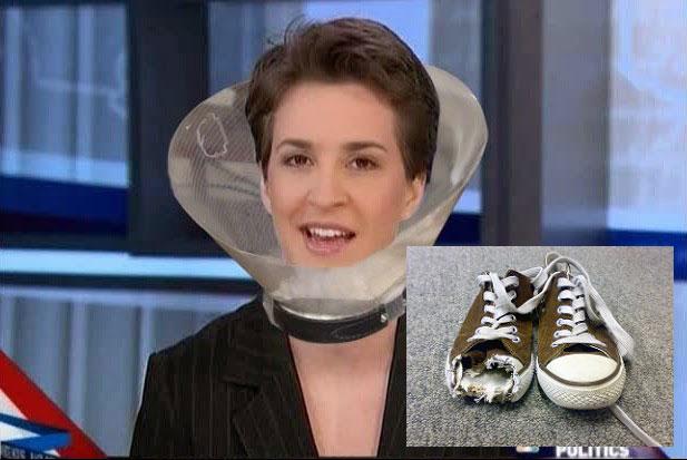 Rachel Maddow Chewed Up My Favorite Sneakers