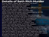 A run down of the Seth Rich assassination.