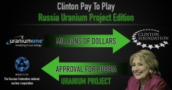 Hillary's pay for play that sold 20 percent of our uranium.