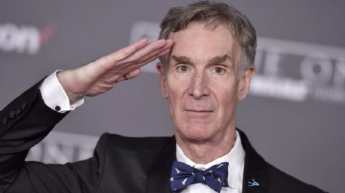 Bill Nye the Patriot Guy. Fuck you, Bill.