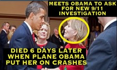 Beverly Eckert (circled), loyal Donald Trump friend, and wife of Sean Rooney, assassinated for getting to close to 9/11 truth