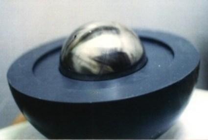 Early Israeli nuclear core model – Vannunu photo.