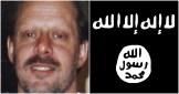 CIA gun runner Stephen Paddock and ISIS flag